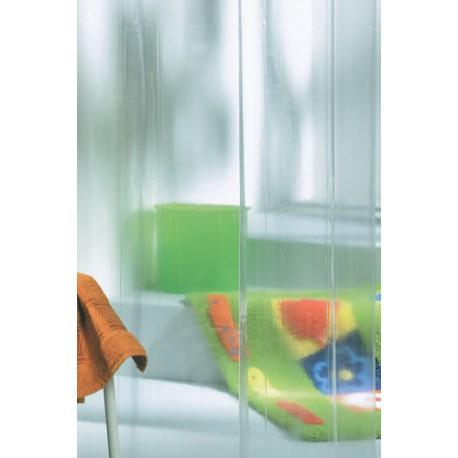 Cortina de baño transparente